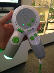 This innovative controller is perfect for little hands!