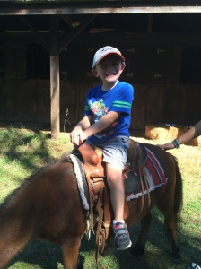 Horseback riding is a great way to get kids excited to visit Wilderness Lodge and Fort Wilderness!