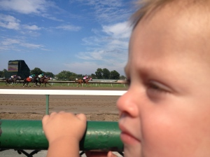We had a blast at Monmouth Park Race Track!