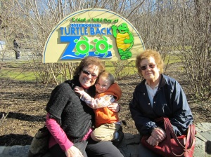 Visiting a zoo is a great way to spend time with grandparents and great grandparents!