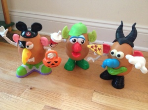 Having a Mr. Potato Head Day is not only fun, it also boosts creativity, language development and fine motor skills!