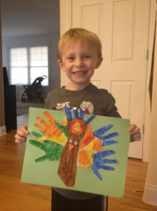 Hand and Foot Print Turkey