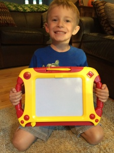 The Doodle Sketch pad is easy to hold and use allowing for hours of fun and learning!