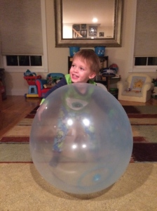 Wubble Bubble Ball offers a fun sensory learning experience!