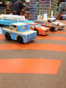 Cars from Home Depot