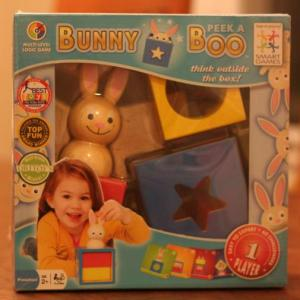 Bunny Peek-A-Book Toy